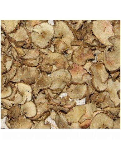 Dried artichokes (topinambour) tubers