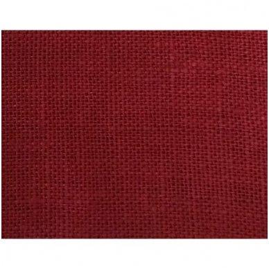 Lininis maišelis (bordo spalva) 2