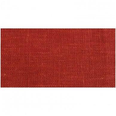 Lininis maišelis (rudai oranžinė spalva)   2