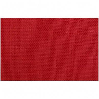 Lininis maišelis (raudona spalva) 2