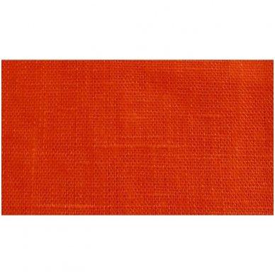 Lininis maišelis (oranžinė spalva)   2