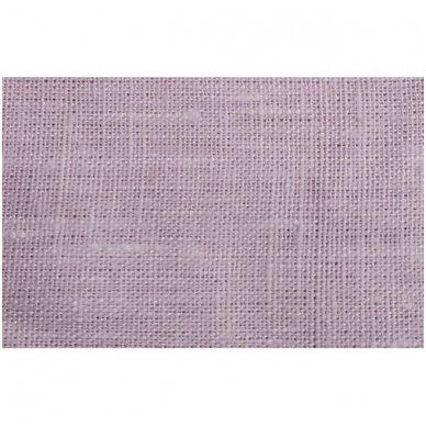 Lininis maišelis (šviesiai rožinė spalva)  2