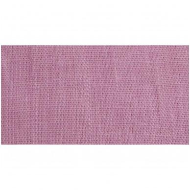 Lininis maišelis (rožinė spalva)   2