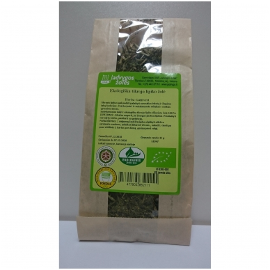 Lipiko tikrojo ekologiška žolė (40 g)