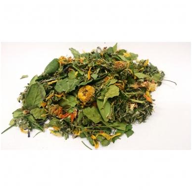 """Ekologiška žolelių arbata Nr.10 """"Švariam organizmui-1"""" ( 40 g )"""